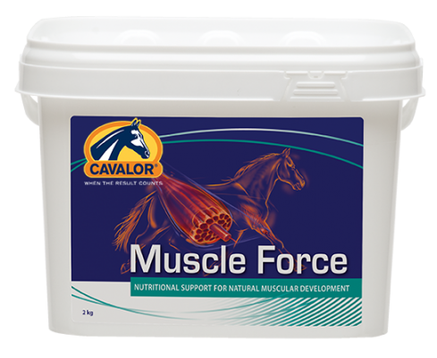 Cavalor Muscle FORCE 2kg Eimer